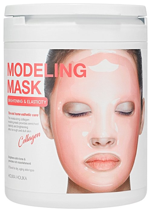 Holika Holika альгинатная маска Modeling Mask с коллагеном