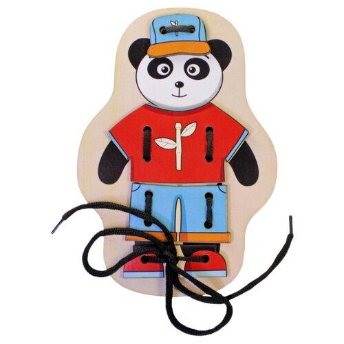 Купить Шнуровка Мастер игрушек Панда (IG0061), Шнуровки