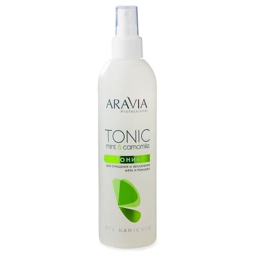 Aravia Тоник Professional для очищения и увлажнения кожи с мятой и ромашкой 300 мл aravia тоник купить