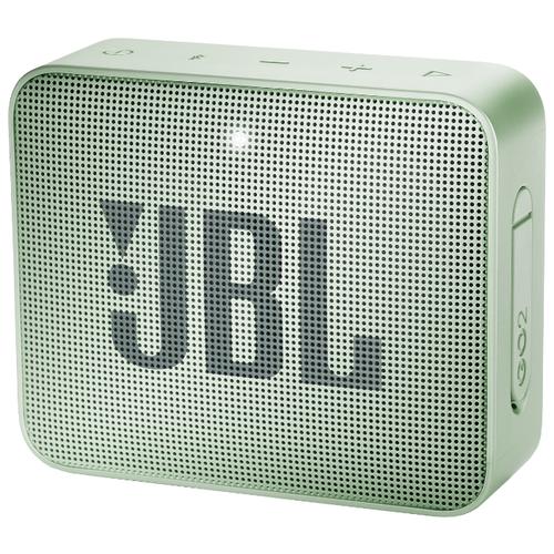Портативная акустика JBL GO 2, Seafoam Mint портативная акустика jbl go 3 white
