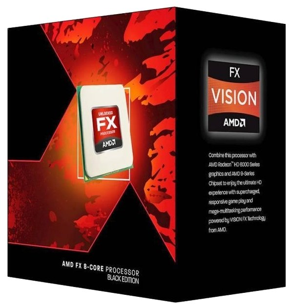AMD FX-8350 Vishera (AM3+, L3 8192Kb)