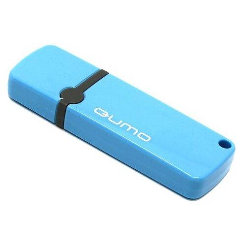 Фото - Флешка Qumo Optiva OFD-02 8Gb 8 ГБ, голубой флешка qumo optiva ofd 02 16gb розовый 1 шт