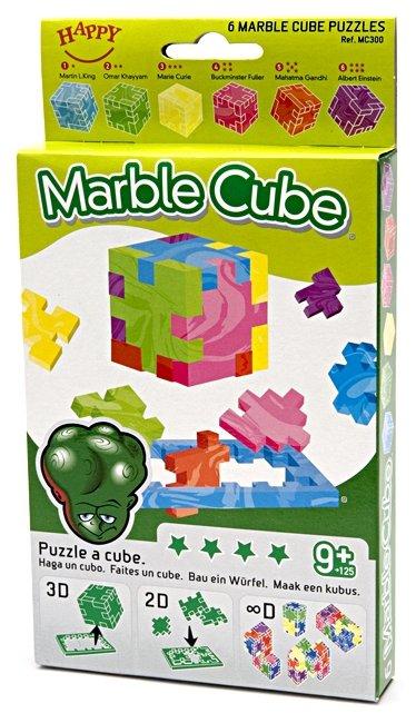 Набор головоломок Happy Cube Мраморный куб (МС300/40) 6 шт.