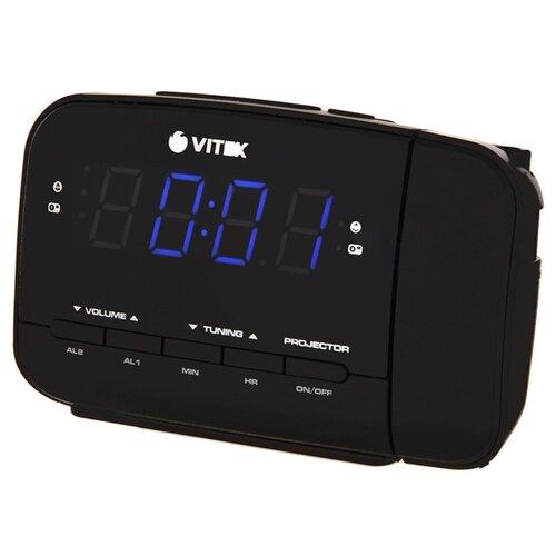 Радиобудильник VITEK VT-6611 черный