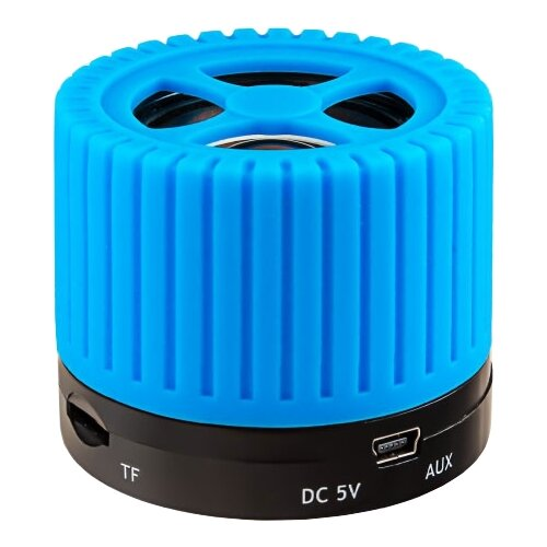 Портативная акустика Ginzzu GM-988 голубой