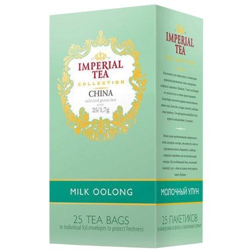 Чай улун Императорский чай Collection China Milk oolong в пакетиках , 25 шт. чай в пакетиках зеленый sebastea milk oolong 37 5 г