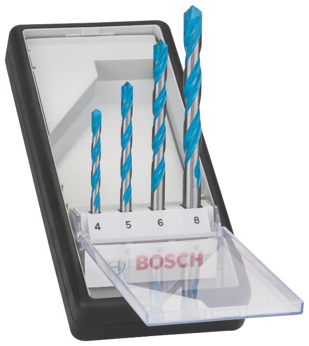 Набор сверл BOSCH Robust Line Multi Construction 2.607.010.521, 4 шт.