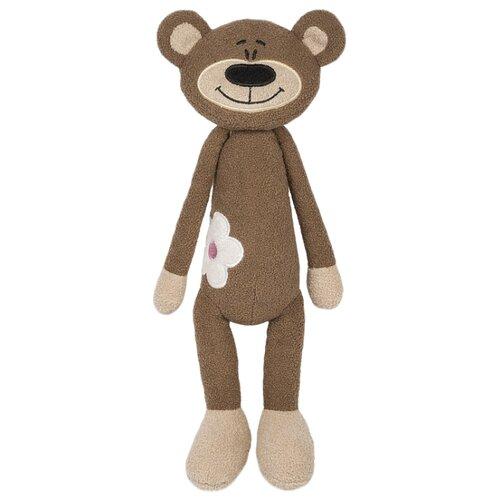 Купить Мягкая игрушка Maxitoys Медвежонок с цветочком 33 см, Мягкие игрушки