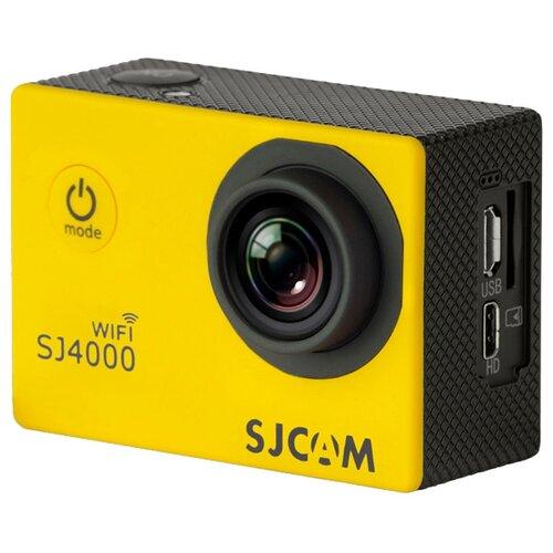 Фото - Экшн-камера SJCAM SJ4000 WiFi желтый экшн камера sjcam sj4000 wi fi yellow