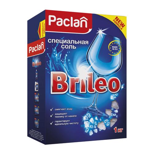 Paclan Соль специальная для посудомоечных машин 1 кг