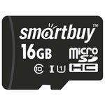 Карта памяти SmartBuy microSDHC Class 10 UHS-I U1 + SD adapter