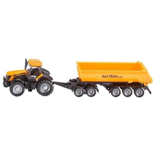 Купить Трактор Siku с прицепом-кузовом (1858) 1:87 22.6 см желтый, Машинки и техника