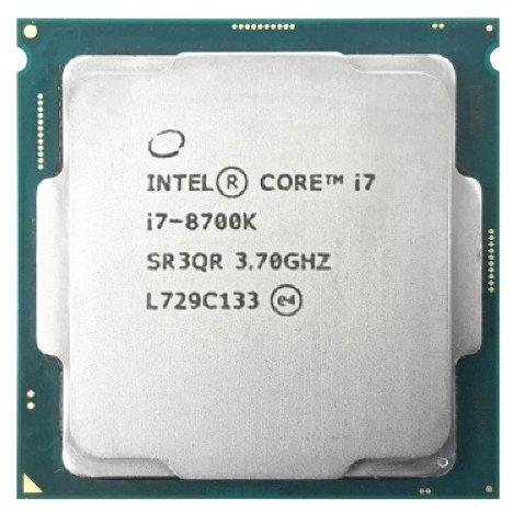 Процессор Intel Core i7-8700K Coffee Lake (3700MHz, LGA1151 v2, L3 12288Kb)