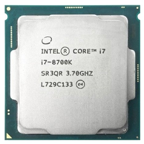 Intel Core i7-8700K Coffee Lake (3700MHz, LGA1151 v2, L3 12288Kb)