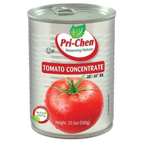 Паста томатная BX 28-30% Pri-Chen жестяная банка 580 гОвощи консервированные<br>