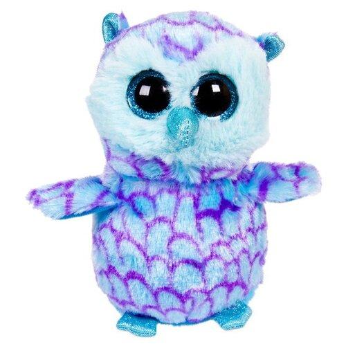 Мягкая игрушка Chuzhou Greenery Toys Совёнок голубой 15 см