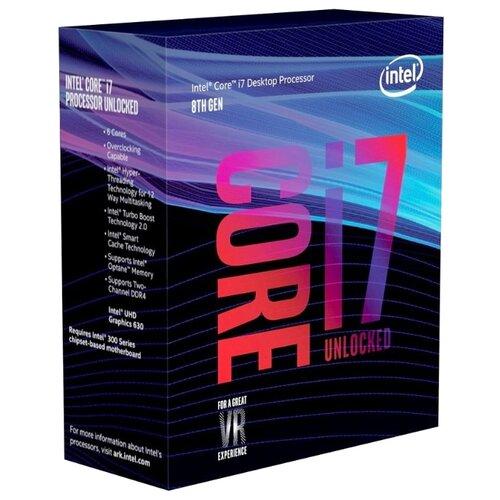 Купить Процессор Intel Core i7-8700K Coffee Lake (3700MHz, LGA1151 v2, L3 12288Kb) BOX