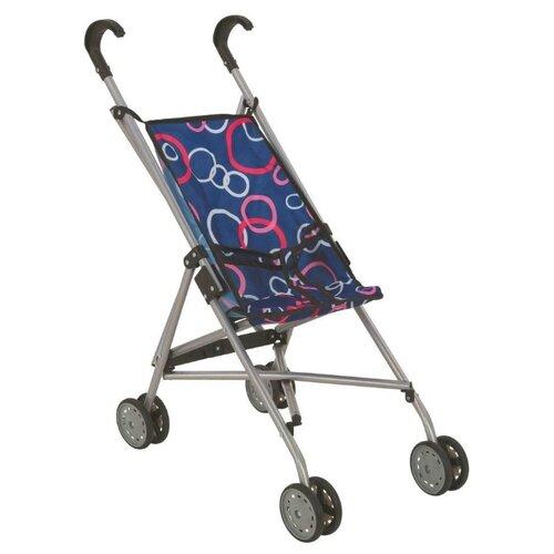 Прогулочная коляска Buggy Boom Mixy 8002 синий/кольца buggy boom коляска для кукол buggy boom infinia трансформер салатовая