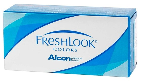 Контактные линзы FreshLook (Alcon) Colors (2 линзы) R 8,6 D -2 blue