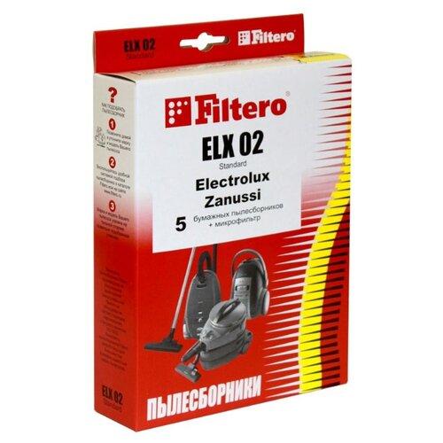Filtero Мешки-пылесборники ELX 02 Standard 5 шт.Аксессуары для пылесосов<br>