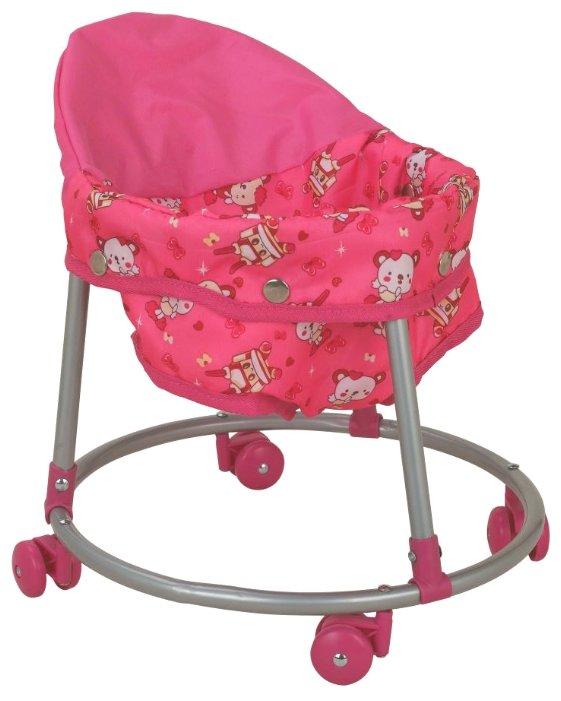 Ходунки Buggy Boom Loona 8779-4 розовый с мишками