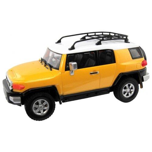 Легковой автомобиль KidzTech Toyota FJ Cruiser (6618-853A/85031) 1:16 30 см желтый автомобиль на радиоуправлении kidztech mini racer
