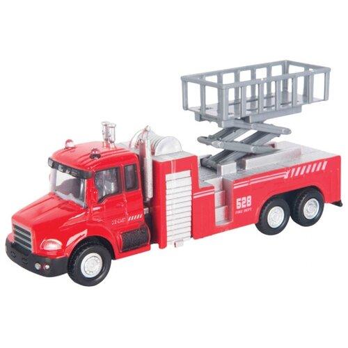Купить Пожарный автомобиль Autogrand Lift Fire Truck с подъемником (34124) 1:48 красная, Машинки и техника