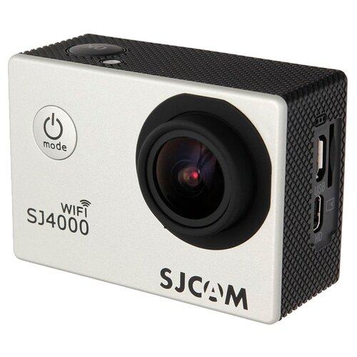 Экшн-камера SJCAM SJ4000 WiFi серебристый экшн камера sjcam sj8 pro full box белый