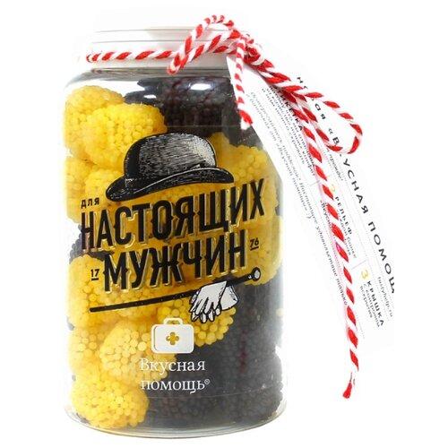 Мармелад Вкусная помощь Для настоящих мужчин со вкусом лимона и колы 300 гМармелад<br>