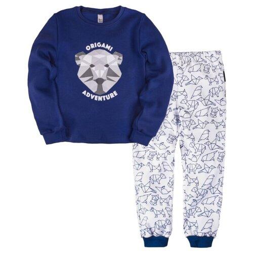 Пижама Bossa Nova размер 34, cиний/белый (синее оригами)Домашняя одежда<br>