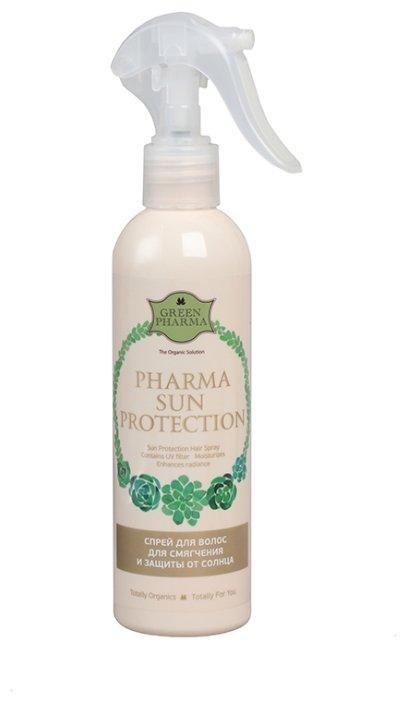 GreenPharma ФармаСанпротекшн. Спрей для волос для смягчения и защиты от солнца