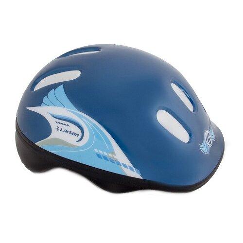 Фото - Защита головы Larsen H1 Pilot, р. S (46 - 49 см), синий защита локтя larsen j730 р senior белый