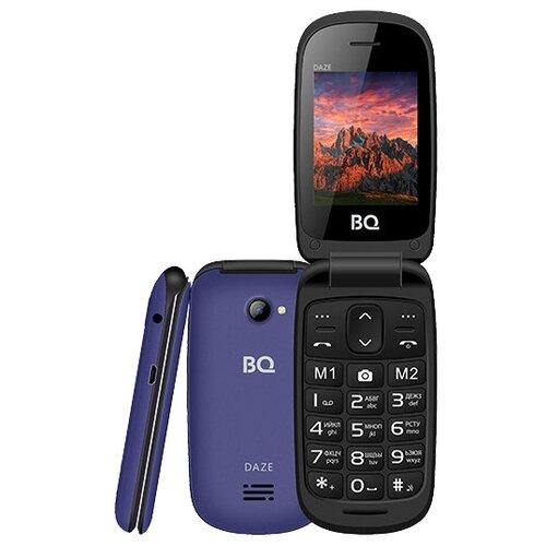 Телефон BQ 2437 Daze синий телефон