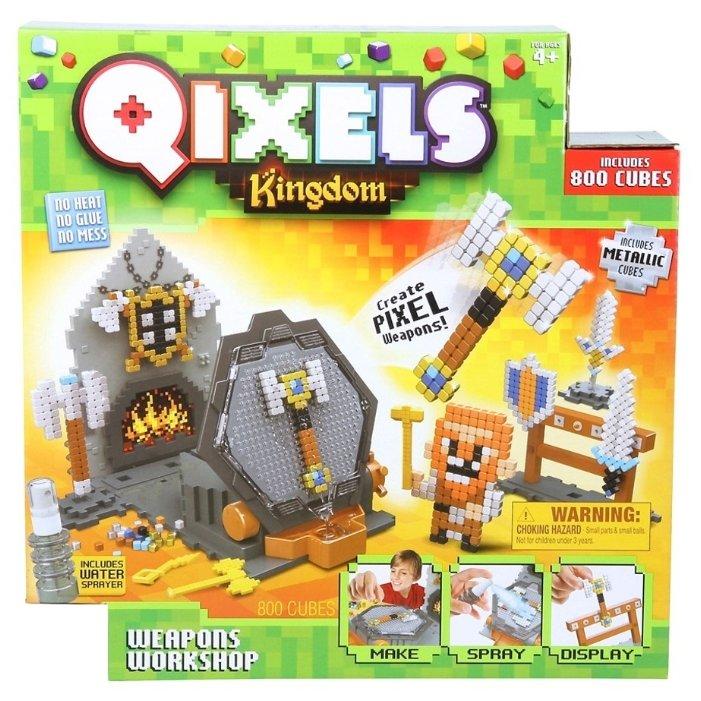 Qixels Набор для творчества Kingdom Оружейная мастерская (87027)