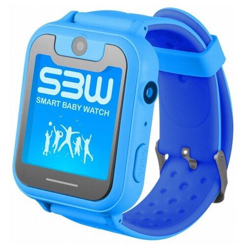 Детские умные часы Smart Baby Watch SBW X, голубой детские умные часы smart baby watch df25g голубые