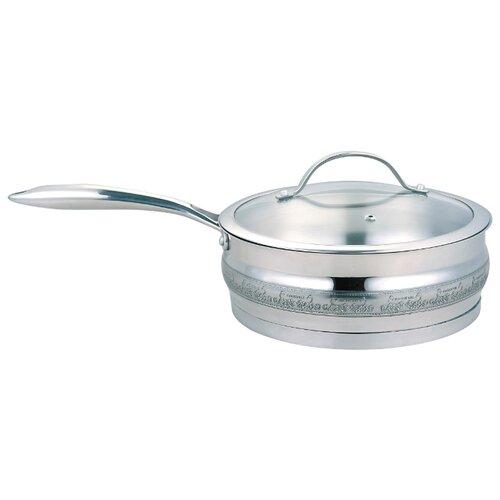 Сковорода Rainstahl 024RSV 24 см, с крышкойСковороды и сотейники<br>