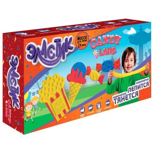 Масса для лепки Эластик Candy Land 360 гр (PE0422) масса для лепки эластик candy