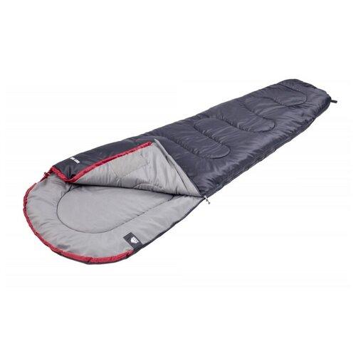 Спальный мешок TREK PLANET Easy Trek серый/красный с правой стороны