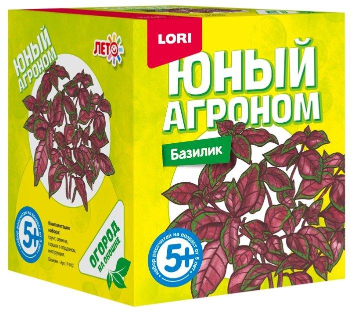 Набор для выращивания LORI Юный агроном. Базилик Р-012