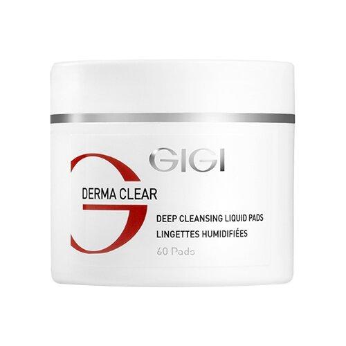 Купить Gigi Очищающие влажные диски Derma Clear Deep Cleansing Liquid Pads