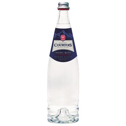 Вода питьевая Courtois газированная, стекло, 0.75 лВода<br>