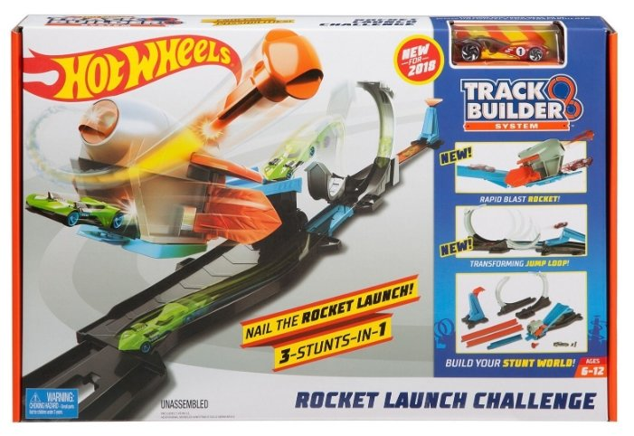 Трек Hot Wheels Rocket Launch Challenge FLK60