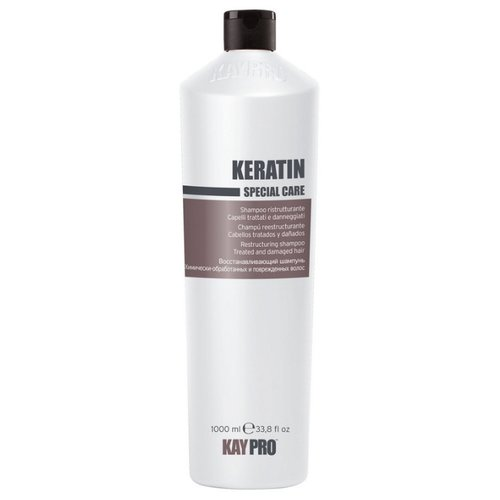 KayPro шампунь Keratin Восстанавливающий для химически обработанных и поврежденных волос 1000 млШампуни<br>