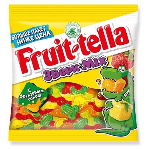 Мармелад Fruittella Звери Mix ассорти 150 г мармелад fruittella крутой микс 70 г