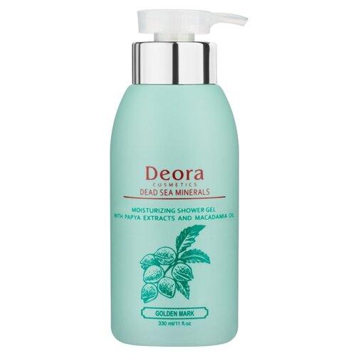 Гель для душа Deora Cosmetics с экстрактом папайи и маслом макадамии 330 млДля душа<br>