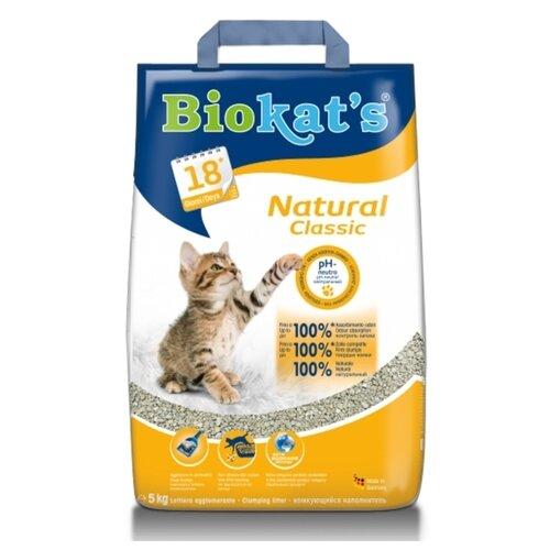 Комкующийся наполнитель Biokat's Classic Natural 5 кг