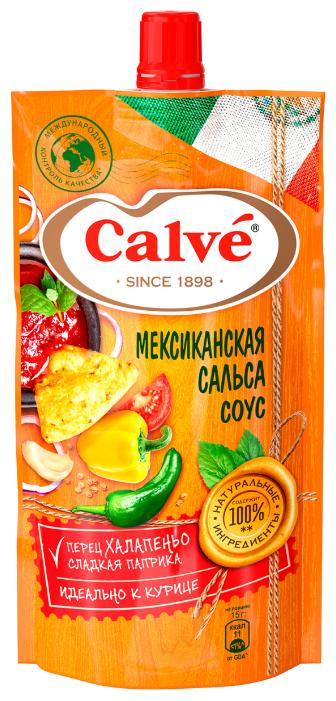 Соус Calve Мексиканская сальса, 230 г