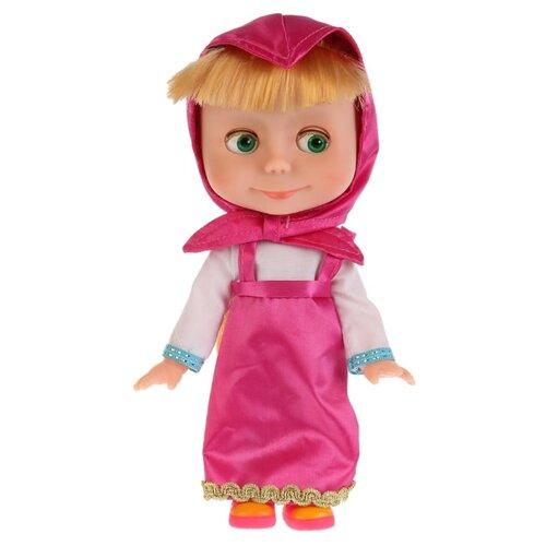 Фото - Интерактивная кукла Карапуз Маша и Медведь Маша с набором для чаепития, 25 см, 83033T кукла манекен карапуз с набором косметики и аксесс д волос в ассорт в русс кор в кop 24шт