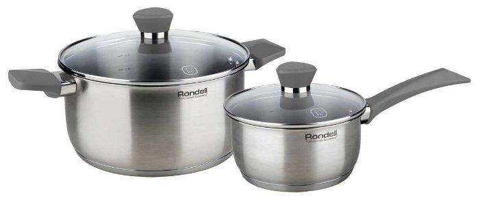 Набор посуды Rondell Strike RDS-819 4 предмета