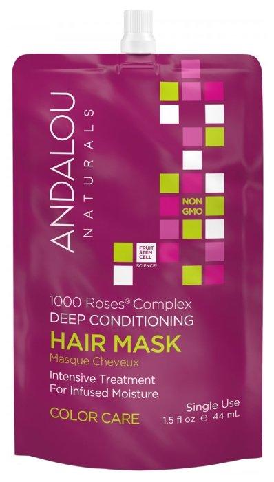 Andalou Naturals 1000 Roses® Complex Color Care Маска питательная и восстанавливающая для окрашенных волос